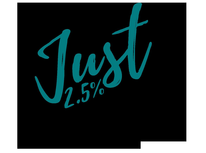 2.5 Percent Just Real Estate Inc